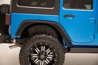 Paramount - Paramount 81-11201 Rear Plastic Inner Fender Liners 07-18 Jeep Wrangler JK (2pc) - Image 1