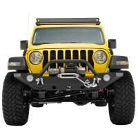 X-J18JLFB015 - R3 Front Bumper with Colored Light Frame for OE Fog Light #51-8007 - Image 1