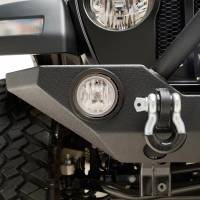 X-J18JLFB015 - R3 Front Bumper with Colored Light Frame for OE Fog Light #51-8007 - Image 3