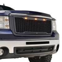 X-T07GHAG000 - ABS LED Matte Black Impulse Packaged Grille #41-0179MB - Image 9