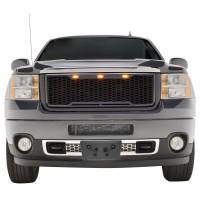 X-T11GHAG000 - ABS LED Matte Black Impulse Packaged Grille #41-0182MB - Image 1