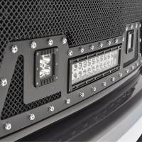 X-T14GSEL000 - Black Evolution Stainless Steel Wire Mesh Packaged Grille w/ LED #48-0851 - Image 3