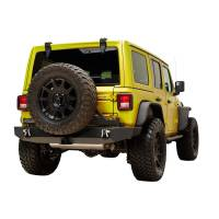 EAG - Full Width Rear Bumper with Secure Lock Tire Carrier and Adaptor for OE back-up Camara #51-8022 - Image 5