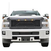 Paramount - ABS LED Matte Black Impulse Packaged Grille #41-0190MB - Image 1