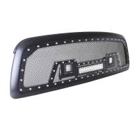 Paramount - Black Evolution Stainless Steel Wire Mesh Packaged Grille w/ LED #48-0829 - Image 3