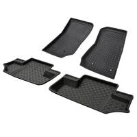 Paramount - 4PCS 2 Door Front and Rear Floor Liners (Black) #59-1126 - Image 4