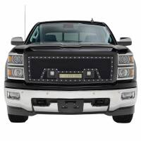 Paramount - Black Evolution Stainless Steel Wire Mesh Packaged Grille w/ LED #48-0843 - Image 1