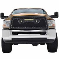 Paramount - Black Evolution Stainless Steel Wire Mesh Packaged Grille w/ LED #48-0828 - Image 1