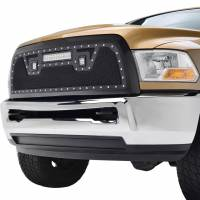 Paramount - Black Evolution Stainless Steel Wire Mesh Packaged Grille w/ LED #48-0828 - Image 3