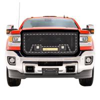Paramount - Black Evolution Stainless Steel Wire Mesh Packaged Grille w/ LED #48-0852 - Image 1