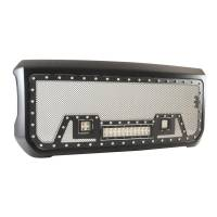Paramount - Black Evolution Stainless Steel Wire Mesh Packaged Grille w/ LED #48-0852 - Image 8