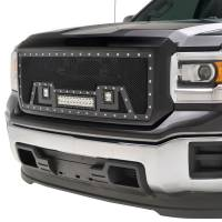 Paramount - Black Evolution Stainless Steel Wire Mesh Packaged Grille w/ LED #48-0851 - Image 4