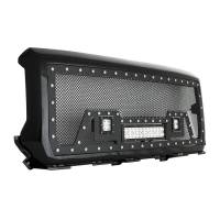 Paramount - Black Evolution Stainless Steel Wire Mesh Packaged Grille w/ LED #48-0851 - Image 10