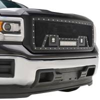 Paramount - Black Evolution Stainless Steel Wire Mesh Packaged Grille w/ LED #48-0851 - Image 11
