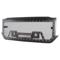 Paramount - Black Evolution Stainless Steel Wire Mesh Packaged Grille w/ LED #48-0854 - Image 6