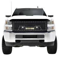 Paramount - Black Evolution Stainless Steel Wire Mesh Packaged Grille w/ LED #48-0853 - Image 1