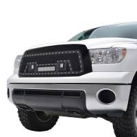 Paramount - Black Evolution Stainless Steel Wire Mesh Packaged Grille w/ LED #48-0836 - Image 3