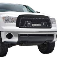 Paramount - Black Evolution Stainless Steel Wire Mesh Packaged Grille w/ LED #48-0836 - Image 9