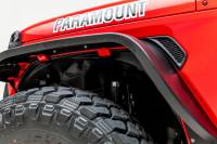 Paramount - Paramount 81-21202 Front Plastic Inner Fender Liners 18-20 Jeep Wrangler JL/JT (2pc) - Image 3