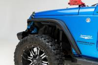 Paramount - 07-18 Jeep Wrangler JK R-5 Canyon Off-Road Narrow Front Fender Flares With LED - Image 3