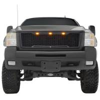 Paramount - ABS LED Matte Black Impulse Packaged Grille #41-0177MB - Image 1