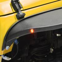 Paramount - 07-18 Jeep Wrangler JK R-5 Canyon Off-Road Front Fender Flares With LED - Image 3