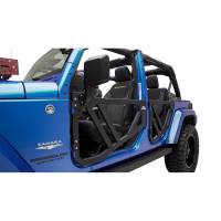 Paramount - 07-18 Jeep Wrangler JK FRONT Trail Doors with Mirrors - Image 5