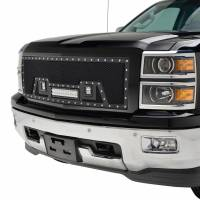 Paramount - Black Evolution Stainless Steel Wire Mesh Packaged Grille w/ LED #48-0843 - Image 3