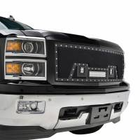 Paramount - Black Evolution Stainless Steel Wire Mesh Packaged Grille w/ LED #48-0843 - Image 9