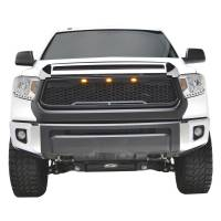 Paramount - ABS LED Matte Black Impulse Packaged Grille #41-0170MB - Image 1