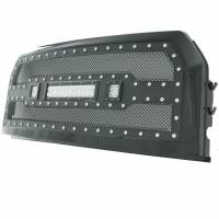 Paramount - Black Evolution Stainless Steel Wire Mesh Packaged Grille w/ LED #48-0850 - Image 6