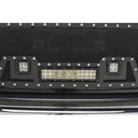 Paramount - Black Evolution Stainless Steel Wire Mesh Packaged Grille w/ LED #48-0851 - Image 5