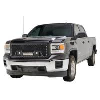 Paramount - Black Evolution Stainless Steel Wire Mesh Packaged Grille w/ LED #48-0851 - Image 6