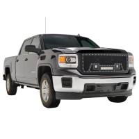 Paramount - Black Evolution Stainless Steel Wire Mesh Packaged Grille w/ LED #48-0851 - Image 9