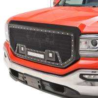 Paramount - Black Evolution Stainless Steel Wire Mesh Packaged Grille w/ LED #48-0857 - Image 3