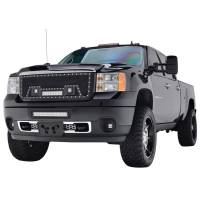 Paramount - Black Evolution Stainless Steel Wire Mesh Packaged Grille w/ LED #48-0842 - Image 4