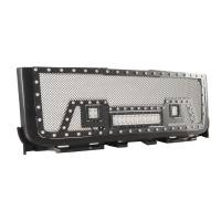 Paramount - Black Evolution Stainless Steel Wire Mesh Packaged Grille w/ LED #48-0842 - Image 8