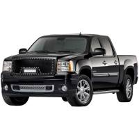 Paramount - Black Evolution Stainless Steel Wire Mesh Packaged Grille w/ LED #48-0832 - Image 1