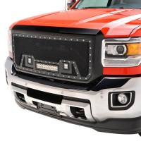Paramount - Black Evolution Stainless Steel Wire Mesh Packaged Grille w/ LED #48-0852 - Image 3