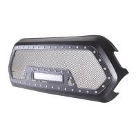 Paramount - Black Evolution Stainless Steel Wire Mesh Packaged Grille w/ LED #48-0856 - Image 5