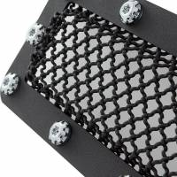 Paramount - Black Evolution Stainless Steel Wire Mesh Cutout Grille #46-0778 - Image 3