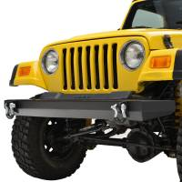 Paramount - 87-06 Jeep Wrangler TJ/YJ Full-Width Classic Front Bumper - Image 3
