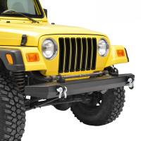 Paramount - 87-06 Jeep Wrangler TJ/YJ Full-Width Classic Front Bumper - Image 9