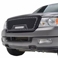 Paramount - 04-08 Ford F-150 Evolution Matte Black Stainless Steel Grille - Image 3
