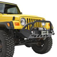 Paramount - 87-06 Jeep Wrangler TJ/YJ Stubby Front Bumper - Image 9