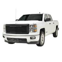 Paramount - 14-15 Chevy Silverado 1500 Matte Black ABS LED Impulse Mesh Grille - Image 4