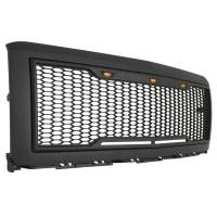Paramount - 14-15 Chevy Silverado 1500 Matte Black ABS LED Impulse Mesh Grille - Image 8