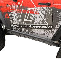 Paramount - 07-18 Jeep Wrangler JK (2 Door) Dimple Die Rocker Sliders - Image 3