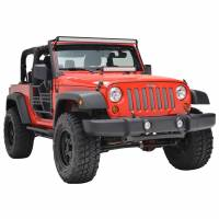 Paramount - 07-18 Jeep Wrangler JK Chrome Stainless Steel Wire Mesh Grille Insert - Image 6