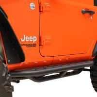 Paramount - 18-21 Jeep Wrangler JL (2 Door) Tubular Tri-Tube Rock Sliders - Image 3